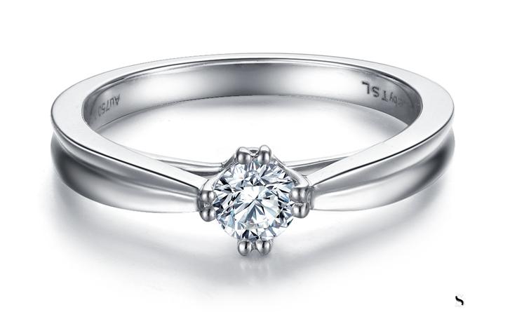 谢瑞麟钻石戒指回收