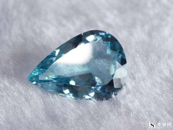 海蓝色宝石回收