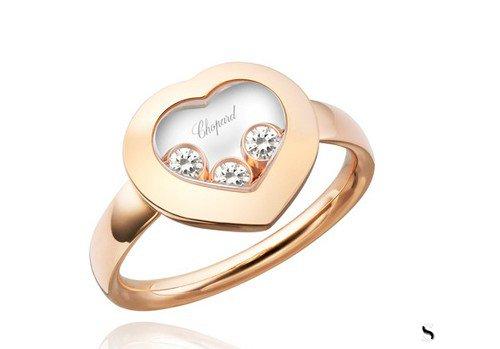 萧邦钻石戒指回收