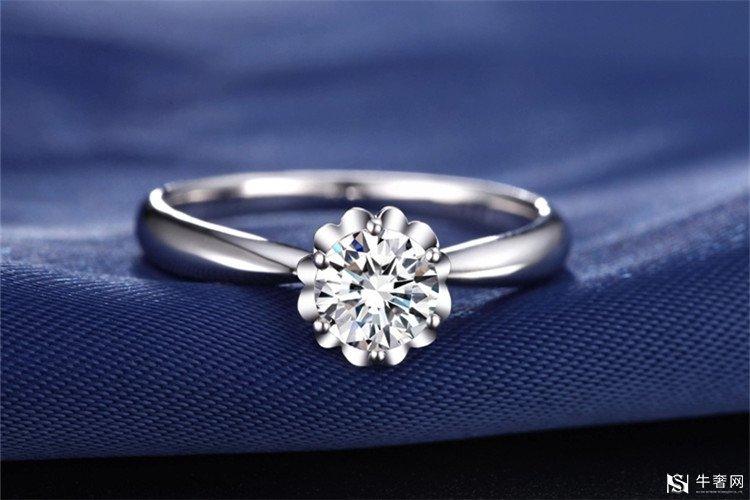 铂金钻石戒指的回收价格