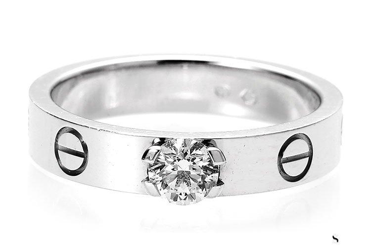 卡地亚Cartier-LOVE铂金系列钻戒可以回收吗?