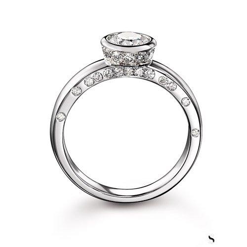卡地亚钻石戒指回收