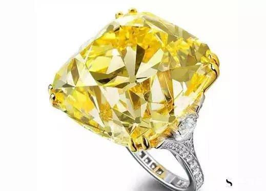 蒂芙尼黄色钻石戒指回收