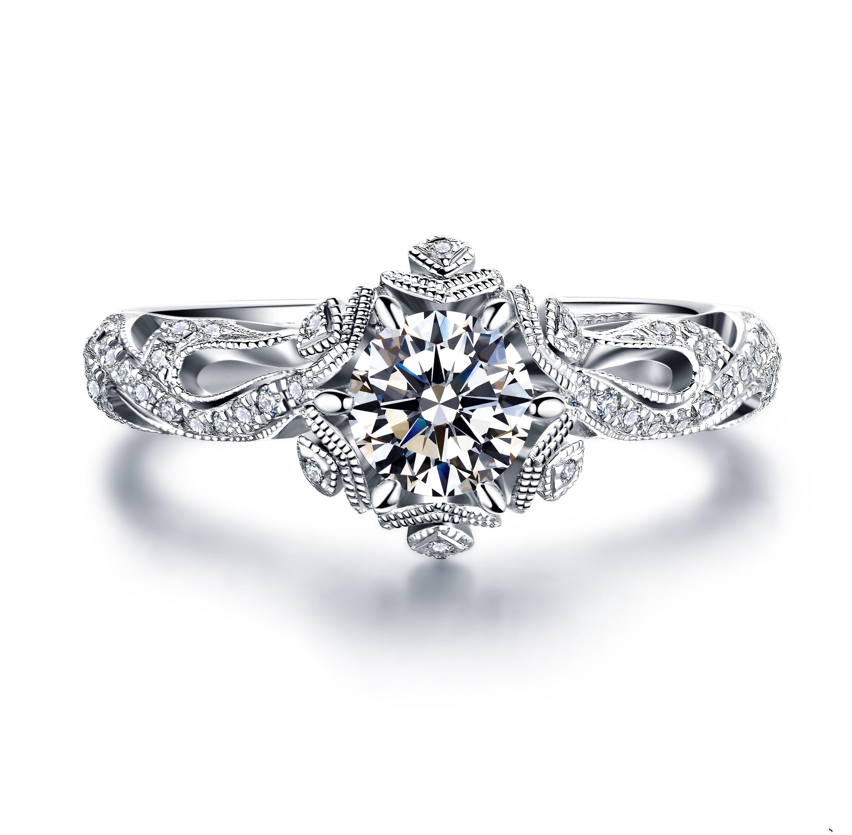 一万元能够买到什么样的钻戒,有回收价值吗?