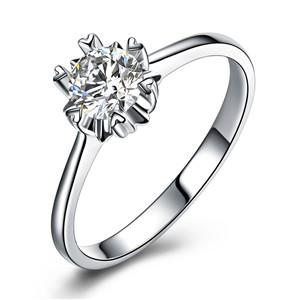 50分钻石戒指上手效果实拍图